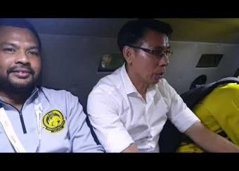 Skuad Harimau Malaya Pulang Naik Barracuda