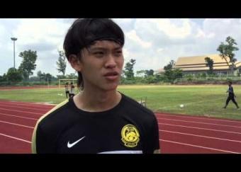 Sesi latihan ketiga Harimau Muda C serta komen kapten, Dominic Tan & penyerang, Jafri Firdaus Chew